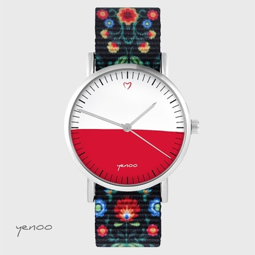 Yenoo watch - Polish flag -...