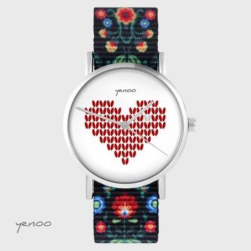 Zegarek yenoo - Serce...