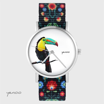 Yenoo watch - Toucan - folk...