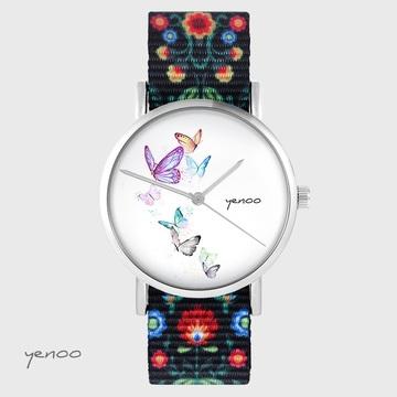 Yenoo watch - Butterflies -...
