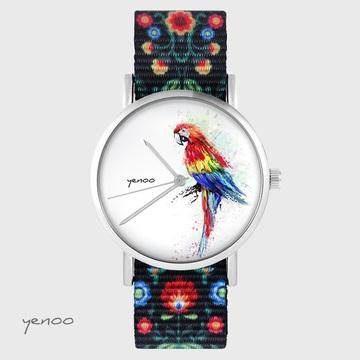 Yenoo watch - Red parrot -...