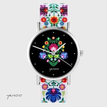 Yenoo watch - Folk, black -...