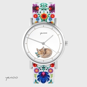 Yenoo watch - Fox - folk,...
