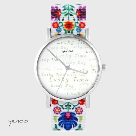 Yenoo watch - Lucky day - folk, nato