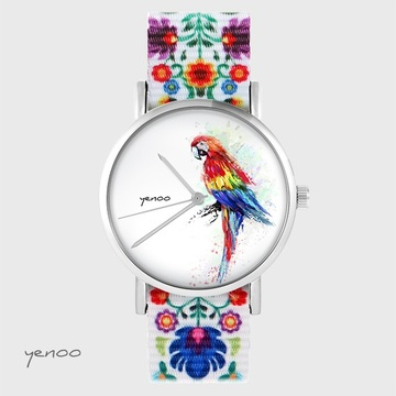Yenoo watch - Red parrot -...