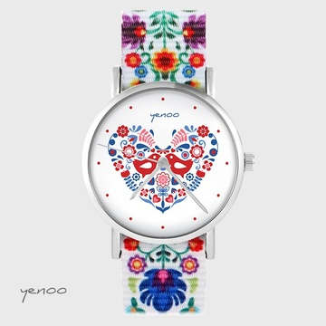 Yenoo watch - Folk birds -...