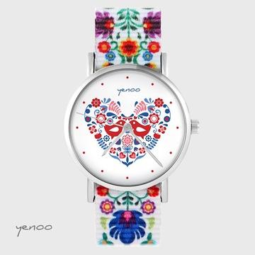 Zegarek yenoo - Ptaszki...