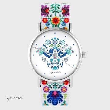 Yenoo watch - Folk birds,...