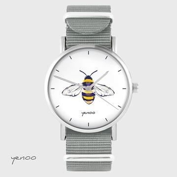 Watch - Bee - grey, nato