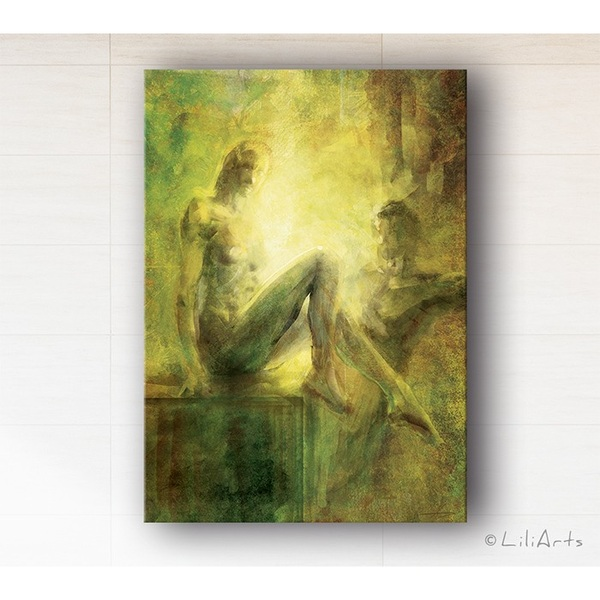 Painting - Closeness - print on canvas